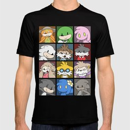 Dot X Cast Squares T-shirt