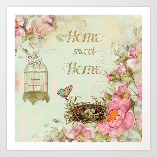 Home Sweet home #4 Art Print