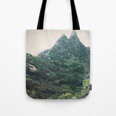 Hawaii Mountain Tote Bag