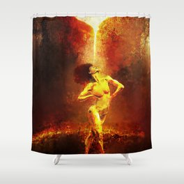 Forged Not Fabricated Shower Curtain