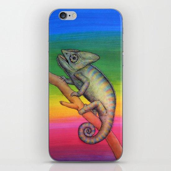 Chameleon (2) iPhone & iPod Skin