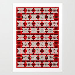 Buffalo Factory – Utility Blade Blanket Art Print