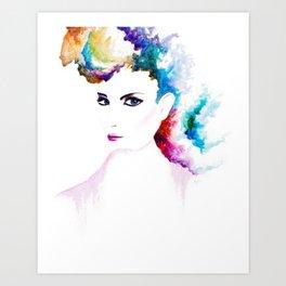 Vibrant Mystery Art Print
