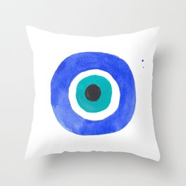 Evil Eye III Throw Pillow