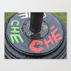 Triple Che  Canvas Print