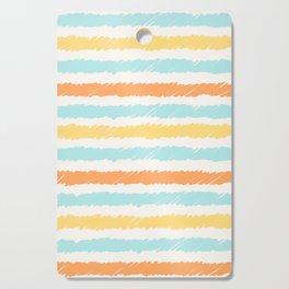summer colors handmade line Cutting Board