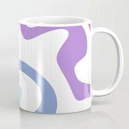 Minimalist Abstract Waves Coffee Mug