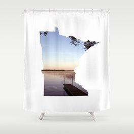 Lake Minnesota Shower Curtain