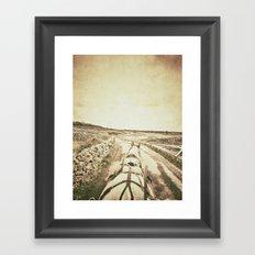 Horseback Ride in the Aran Islands Framed Art Print