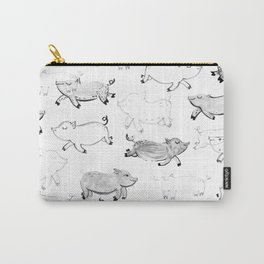 Pigs pattern Carry-All Pouch