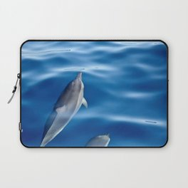 Dolphins racing Laptop Sleeve
