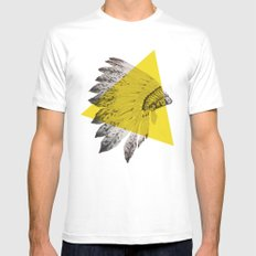 headdress Mens Fitted Tee White MEDIUM