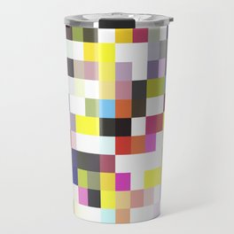Love Pixel Travel Mug