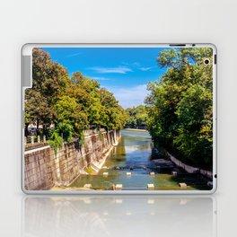 DE - Bavaria : Isar canal Laptop & iPad Skin