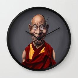 Celebrity Sunday ~ Dalai Lama Wall Clock