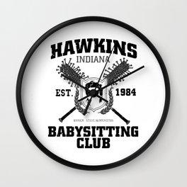 Hawkins Babysitting Club Wall Clock
