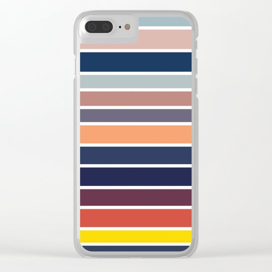 Ocean Sunset #2 Clear iPhone Case
