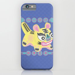 Chinese Cloth Tiger Left Side - Tiger Roars Forest Hill iPhone Case