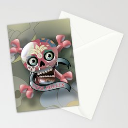 Love Braces Flat Stationery Cards