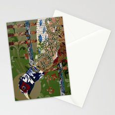September Moon (Ring-necked Pheasant) Stationery Cards