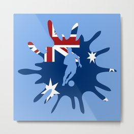 The Flag of Australia II Metal Print