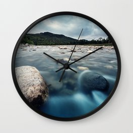 Riverscape Wall Clock