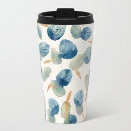 no.632. Watercolor dots Travel Mug