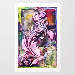 Safuli's Flower Art Print
