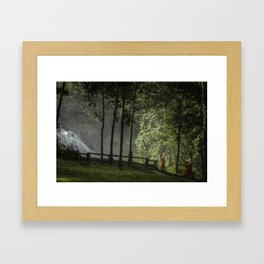 Serenity Walks Framed Art Print