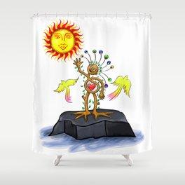 Nature Man Shower Curtain
