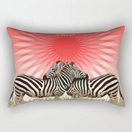 Zebras Rectangular Pillow