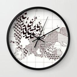 Kerguelen Islands Wall Clock