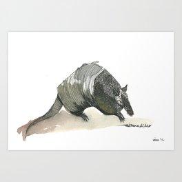 armadillo! Art Print