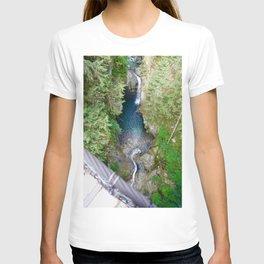 lynn canyon suspension bridge, 2017 T-shirt