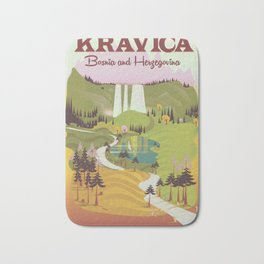 Kravica Waterfalls Bath Mat