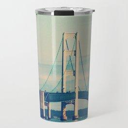Mackinac Bridge Travel Mug