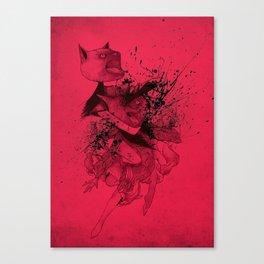 CATFIGHT! Canvas Print