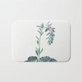 Flowering Succulent II Bath Mat