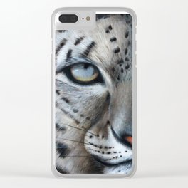 Leopard's Prey Clear iPhone Case