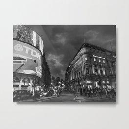 London 021 BW Metal Print