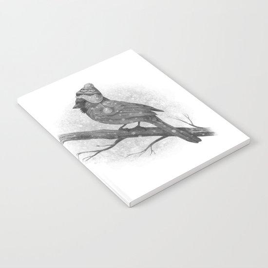First Snow (monochromatic) Notebook