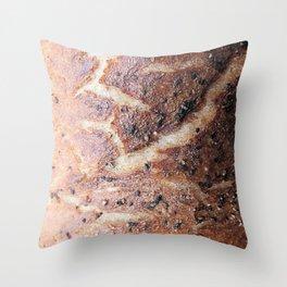 Baker's Abstract Throw Pillow