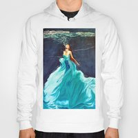 ariel Hoodies featuring Ariel by Terrel