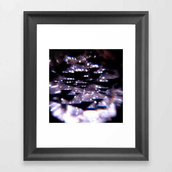 Diffraction Framed Art Print