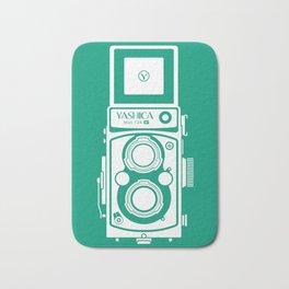 Yashica Mat 124G Camera Emerald Bath Mat