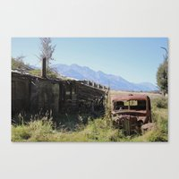 new zealand Canvas Prints featuring New Zealand, Old Zealand by Andy Little