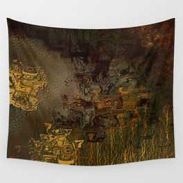 Swollen Years of Time Wall Tapestry
