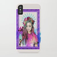 libra iPhone & iPod Cases featuring Libra by Sara Eshak