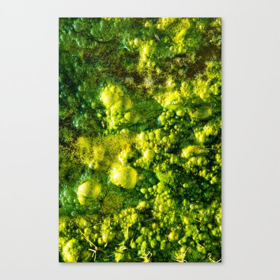 The Green Goo Canvas Print