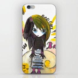 Bad Girl iPhone Skin